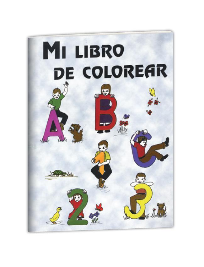 Mi Libro De Colorear Librería El Olivo